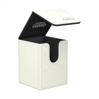 Boites de Rangements Flip Deck Case 100+ - Blanc
