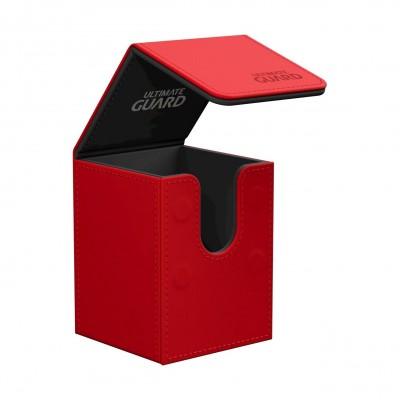 Boites de Rangements  Flip Deck Case 100+ - Rouge