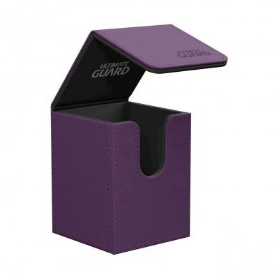 Boites de Rangements Flip Deck Case 100+ - Violet