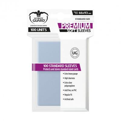 Protèges Cartes  100 Pochettes - Premium Soft - Transparent