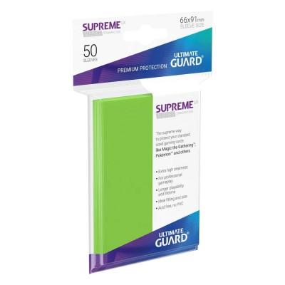 Protèges Cartes 50 Pochettes - Supreme UX - Vert Clair