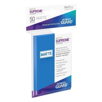 Protèges Cartes 50 Pochettes - Supreme UX - Bleu Roi Matte