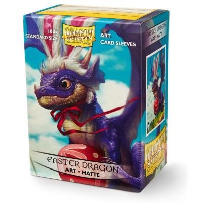 Protèges Cartes illustrées  100 pochettes - Easter Dragon