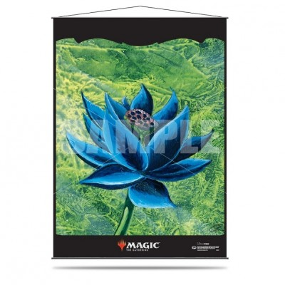 Décoration Wall Scroll - Black Lotus