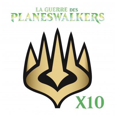 Lot de Cartes Magic the Gathering La Guerre des Planeswalkers - Lot 10 Rares