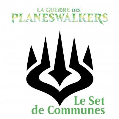 Lot de Cartes Magic the Gathering La Guerre des Planeswalkers - Set de Communes