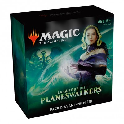 Boosters Magic the Gathering La Guerre des Planeswalkers - Pack d'Avant Première