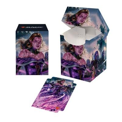 Boites de rangement illustrées  La Guerre des Planeswalkers - Deck Box 100+ - Liliana