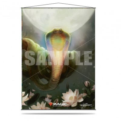 Décoration Magic the Gathering Wall Scroll - Lotus Cobra