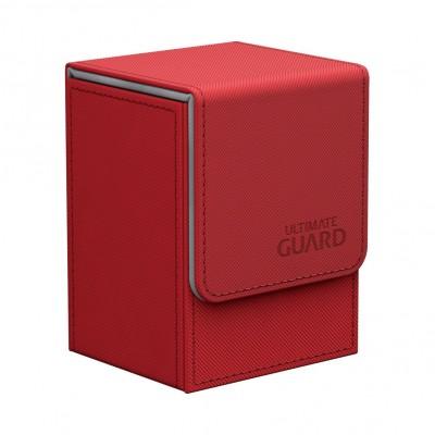 Boites de Rangements  Flip Deck Case 80+ - XenoSkin - Rouge