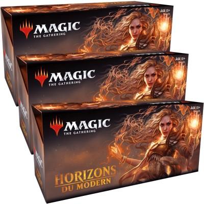 Boites de Boosters Magic the Gathering Horizons du Modern - Lot de 3