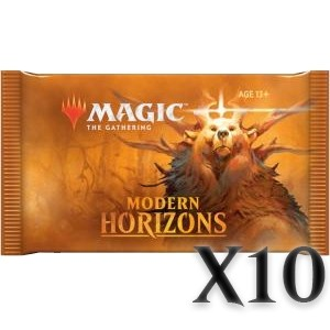 Boosters Magic the Gathering Horizons du Modern - Lot de 10