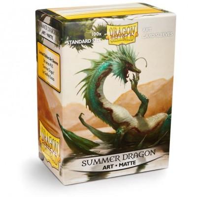 Protèges Cartes illustrées 100 pochettes - Summer Dragon