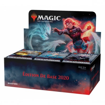 Boites de Boosters Magic the Gathering Edition de base 2020