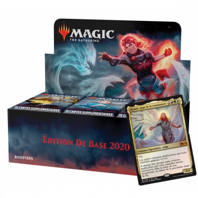 Boites de Boosters Magic the Gathering Edition de base 2020 + Carte Promo (Retrait magasin)