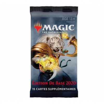 Booster Magic the Gathering Edition de base 2020