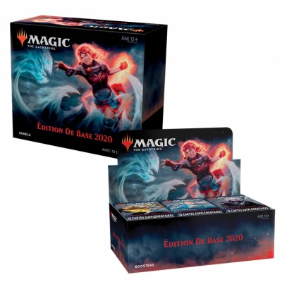 Offres Spéciales Magic the Gathering Edition de base 2020 - Small Pack : Boite VF + Bundle VF