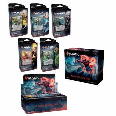 Offres Spéciales Edition de base 2020 - Mega Pack : Boite VF + 5 Decks VF + Bundle VF