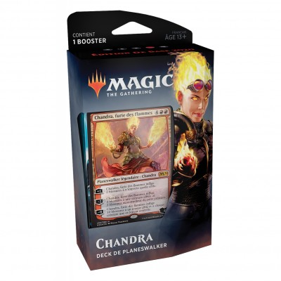 Decks Magic the Gathering Edition de base 2020 - Planeswalker - Chandra