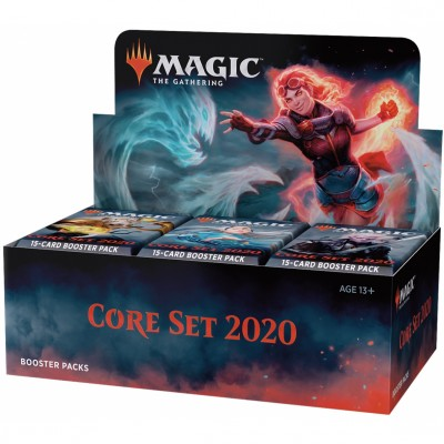 Boites de Boosters Core set 2020