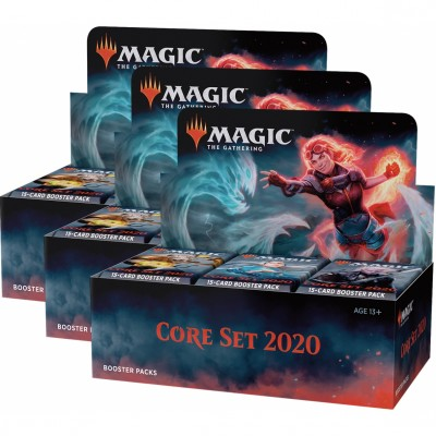 Boites de Boosters Core set 2020 - Lot de 3