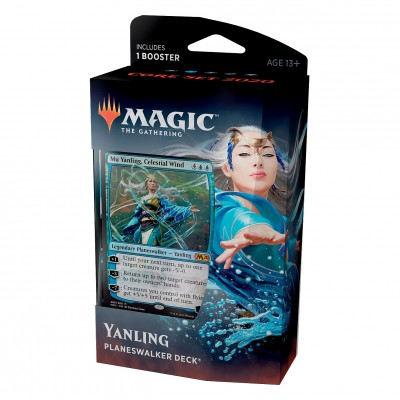 Decks Magic the Gathering Core set 2020 - Planeswalker - Yanling