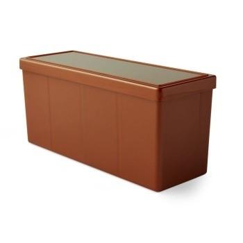 Boites de Rangements 4 Compartiments - Copper