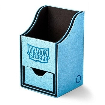 Boites de Rangements  Nest 100+ Deck Box Dice Tray - Blue/Black