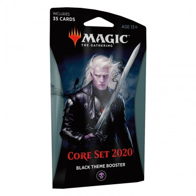 Boosters Core Set 2020 - Theme Booster Black
