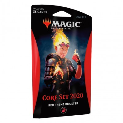 Boosters Magic the Gathering Core Set 2020 - Theme Booster Red