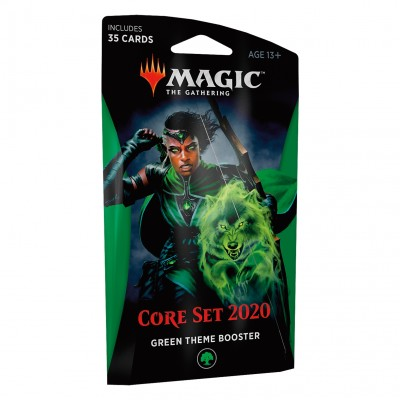 Boosters Magic the Gathering Core Set 2020 - Theme Booster Green