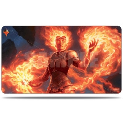 Tapis de Jeu Magic the Gathering Edition de Base 2020 - Playmat - Chandra, fournaise éveillée