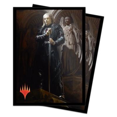 Protèges Cartes illustrées Magic the Gathering Edition de Base 2020 - 100 Pochettes - Sorin, seigneur de sang impérieux