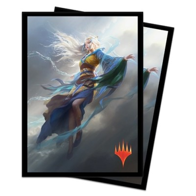 Protèges Cartes illustrées Magic the Gathering Edition de Base 2020 - 100 Pochettes - Mu Yanling, danseuse céleste