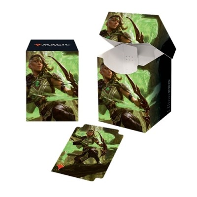 Boites de rangement illustrées Magic the Gathering Edition de Base 2020 - Deck Box 100+ - Vivien, ranger au bestiarc