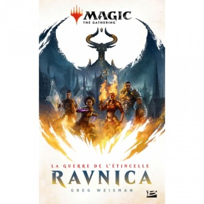 Livres Magic the Gathering La Guerre de l'étincelle : Ravnica