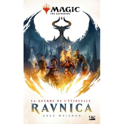 Livres Magic the Gathering La Guerre de l'étincelle : Ravnica (format poche)