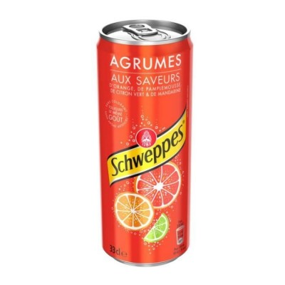 Confiseries  Boisson Canette - Schweppes Lemon