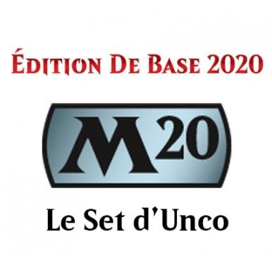 Lot de Cartes Magic the Gathering Edition de Base 2020 - Set d'Unco