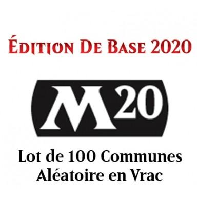 Lot de Cartes Edition de Base 2020 - Lot de 100 Communes en Vrac