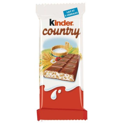 Confiseries  Bonbon - Kinder Country - Snack