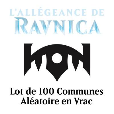 Lot de Cartes L'Allégeance de Ravnica - Lot de 100 Communes en Vrac