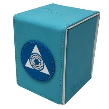 Boite de rangement illustrée Magic the Gathering Alcove Flip Box - Azorius