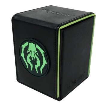 Boite de rangement illustrée Magic the Gathering Alcove Flip Box - Golgari