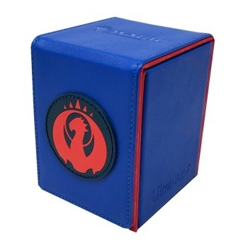 Boite de rangement illustrée Magic the Gathering Alcove Flip Box - Izzet