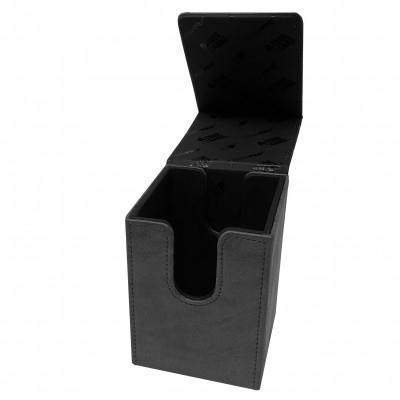 Boites de Rangements Alcove Flip Box - Suede Collection - Jet