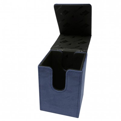 Boites de Rangements Alcove Flip Box - Suede Collection - Sapphire