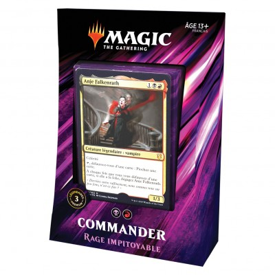Decks Magic the Gathering Commander 2019 - Rage Impitoyable