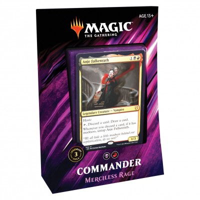 Decks Magic the Gathering Commander 2019 - Merciless Rage