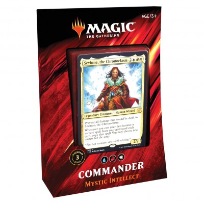 Decks Magic the Gathering Commander 2019 - Mystic Intellect